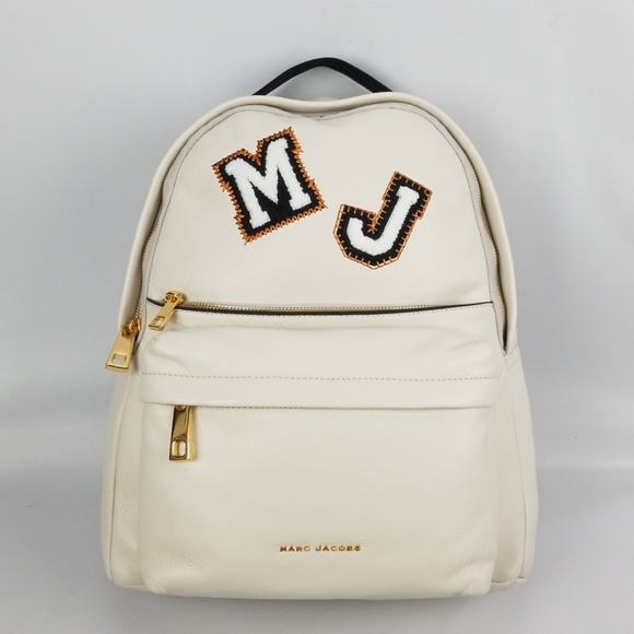 Marc Jacobs Varsity Vintage White Leather Patch f1baad4ab2